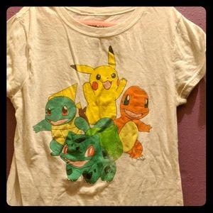 Women's Pokemon shirt